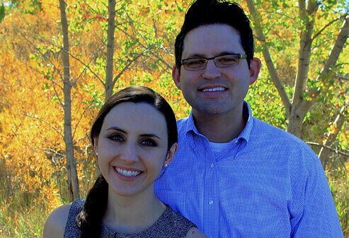Weatherford dentist Kyle Meason and his wife