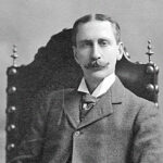 Black and white photo of Edward Angle, the father of orthodontics